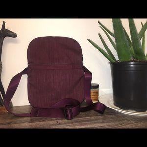 Maroon lululemon athletica bag